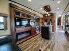 Ceiling Vents, Fireplace, Flooring, Interior Lighting, Kitchen Island, Stereo System
