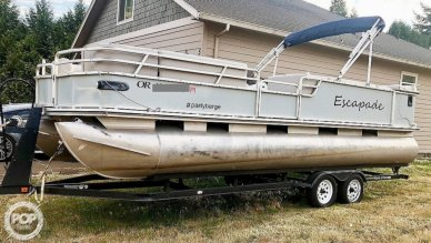 Sun Tracker Party Barge 25, 25, for sale - $27,700
