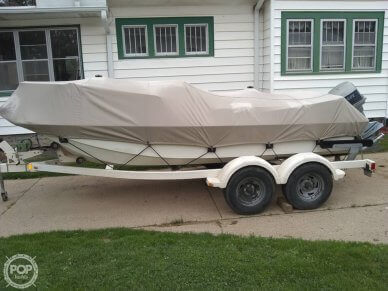 Port Side View With Boat Cover