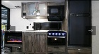 Kitchen, Microwave, Fireplace, Refrigerator, Cabinets