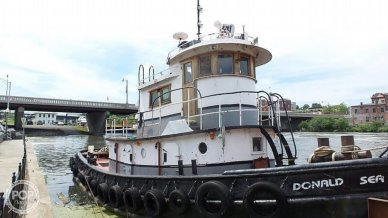 1964 52' Steel Tug Boat Larose Louisiana Built - #5