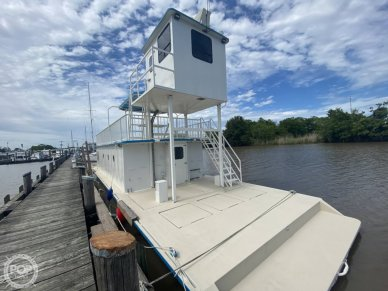 1996 Custom Built In 2020 Houseboat/Deckhouse on Lakeview Hull - #2