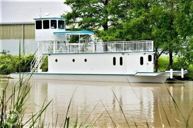 Custom Built In 2020 Houseboat/Deckhouse on Lakeview Hull, 2020, for sale - $482,000