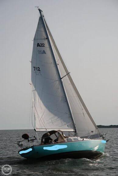 1968 Alberg 30'