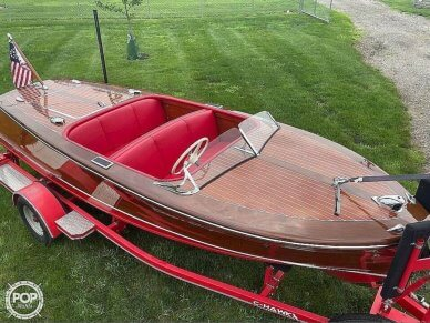 Chris-Craft Deluxe Runabout, 17', for sale - $50,000