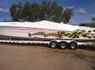 Black Thunder 43 Offshore, 43', for sale - $74,900