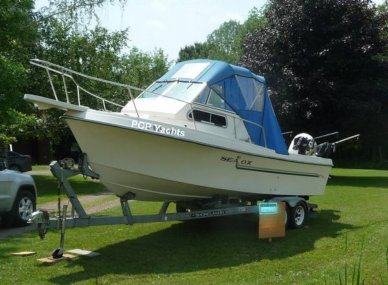 Sea Ox 230C Walkaround, 23', for sale - $22,500