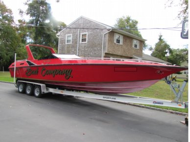 Fountain 10 meter Executioner, 33', for sale - $34,500