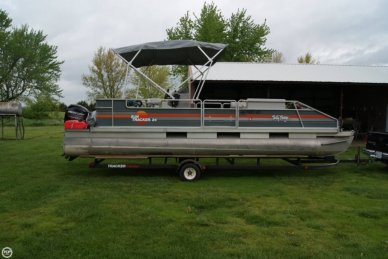 Sun Tracker 24 Party Barge, 24, for sale - $10,500