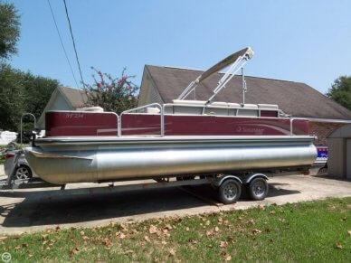Lowe Suncruiser Pontoon Boat Ski & Fish 23 SF234, 23', for sale - $22,400