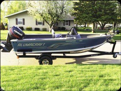 Alumacraft Navigator 165 CS, 16', for sale - $19,500