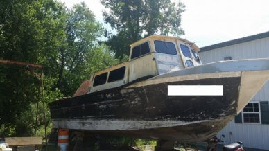 MonArk Workboat 36, 36', for sale - $77,500