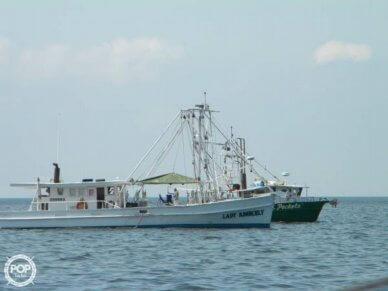 Biloxi Lugger Shrimp boat, 54', for sale - $38,900